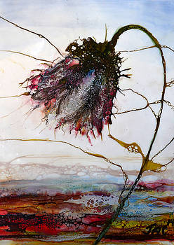 One Red Blossom by Jennifer  Creech