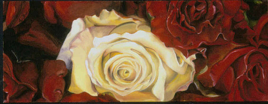 One White Rose by Mary Brown