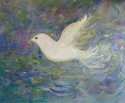One Winged Dove by Sara Credito