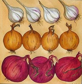 Onions and Garlic by Elizabeth H Tudor