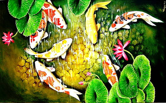 Only after the last fish has been caugh  by Yuki Othsuka