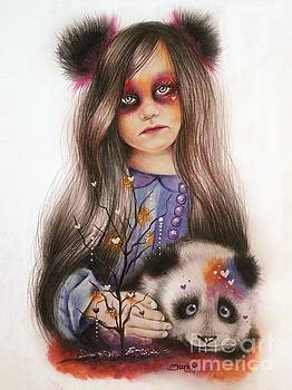 Only Friend in the World - Panda Precious by Sheena Pike