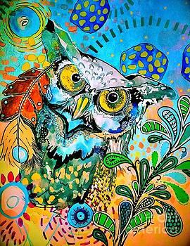 Oogke Owl by Amy Sorrell