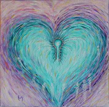 Open heart by Kristina Granholm