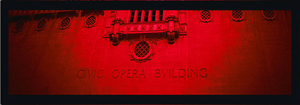 TONY GRIDER - OPERA IN RED AND BLACK