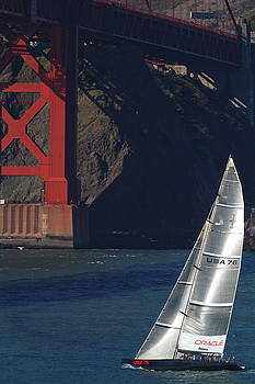 Wingsdomain Art and Photography - Oracle Racing Team USA 76 International America
