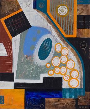 Orange Circles by Paul Greco