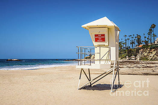 Paul Velgos - Orange County California Laguna Beach Lifeguard Tower