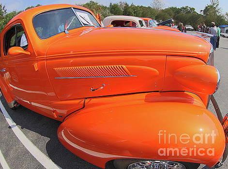Orange Hot Rod by Don Fleming