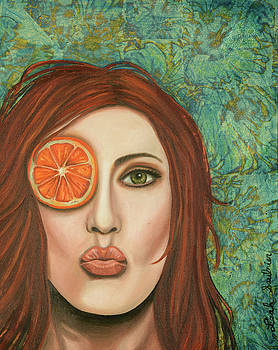Leah Saulnier The Painting Maniac - Orange Kiss