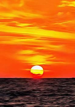 Tracey Harrington-Simpson - Orange Sunset