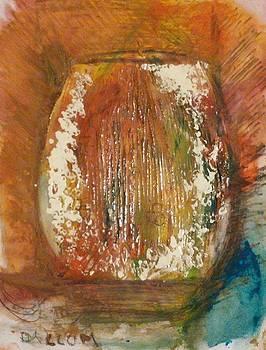 Orange Vase by Gregory Dallum