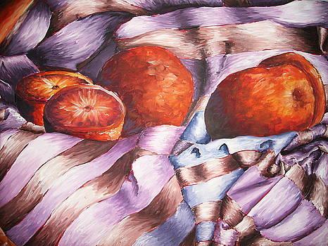 Oranges in a Blanket by Ashley Warbritton