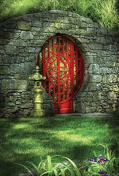 Mike Savad - Orient - Door - The Moon gate