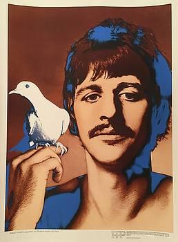 Original 1967 Richard Avedon Poster Ringo Starr by Richard Avedon