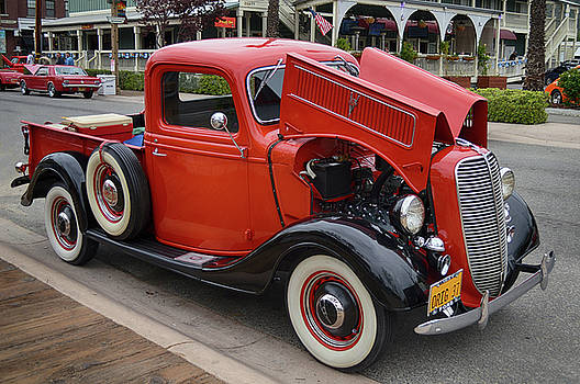 Original 37 Ford Pickup by Bill Dutting