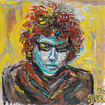 Original Bob Dylan by Patrick Ginter