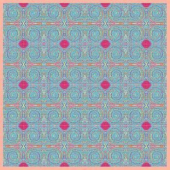 Original Light Blue Patterns by Mohammad Safavi naini
