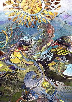Orignial Watercolor Mashup by Sarah Kovin Snyder