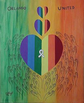 Orlando United by Catherine Velardo