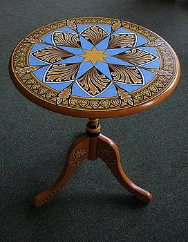 Ornamental Round Table by Andrea Ellwood