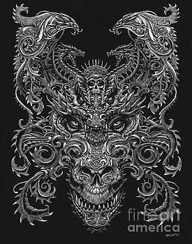 Ornate Dragon by Stanley Morrison