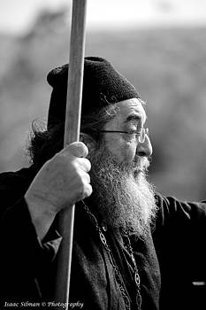 Isaac Silman - Orthodox priest Talking to the people