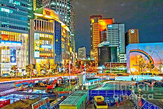 Osaka by night by Pravine Chester