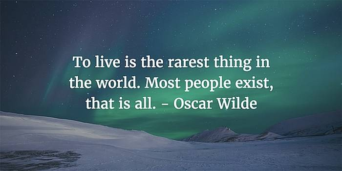 Oscar Wilde Quote by Matt Create