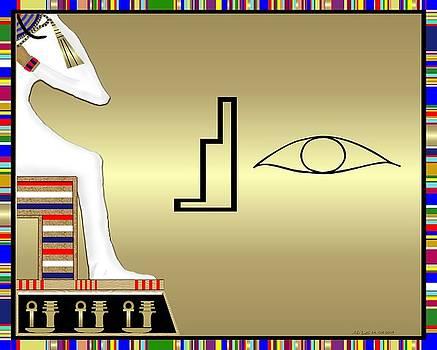 Osiris Papyrus by Mike Sexton