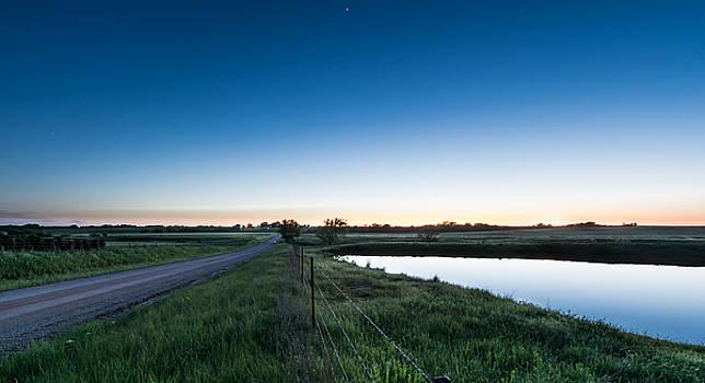 Otoe Plains Sunset by Nathan Hillis
