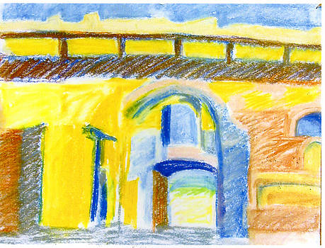 Otranto Bridge by Irma   Ostroff
