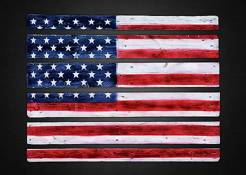 Our Flag by Steven Michael