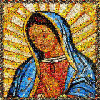Our Lady of Guadalupe by Gilberto Viciedo