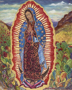 Our Lady of Guadalupe by Maria Gibbs