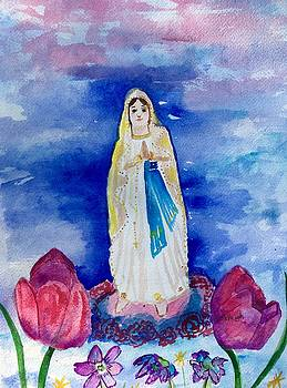 Our Lady Of Lourdes by Marita McVeigh