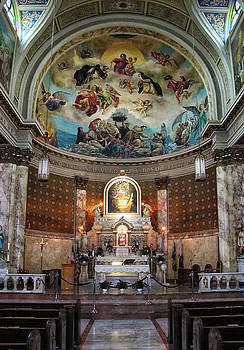 Our Lady of Pompei Church New York City by Dave Mills