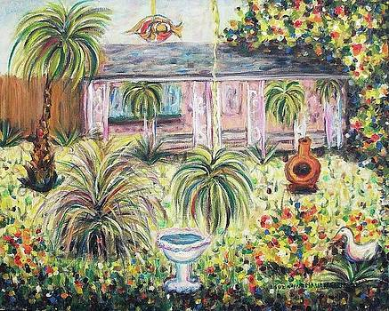 Suzanne  Marie Leclair - Our Patio and Yard