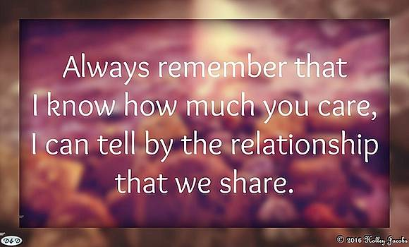 Our Relationship by Holley Jacobs