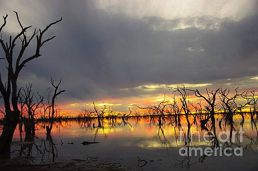 Outback Sunset by Blair Stuart
