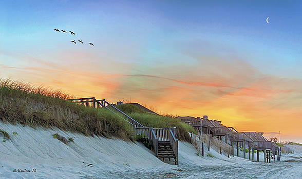 Outer Banks At Sundown by Brian Wallace
