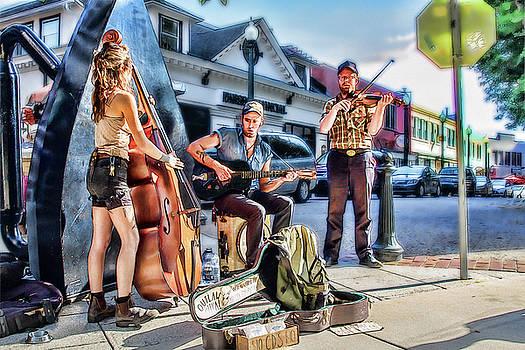 Outlaw Ritual Busker Band by John Haldane