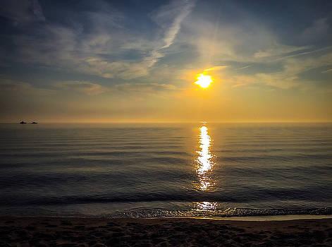 Oval Beach Sunset by Dan McCafferty