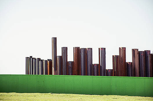Over the fence by Nick Barkworth