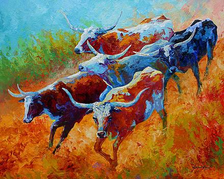 Marion Rose - Over The Ridge - Longhorns