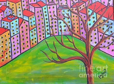 Overlooking the Park by Karleen Kareem