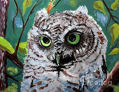 Owl Be Seeing You by Tom Riggs