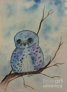 Owl Be So Blue by Ginny Youngblood