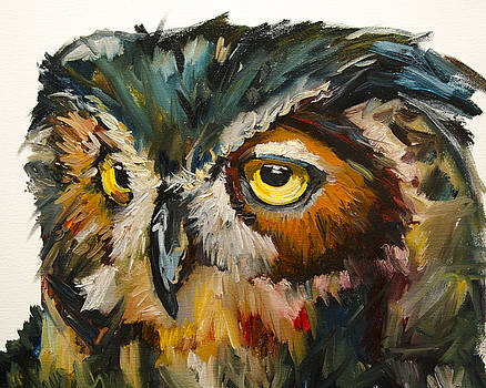 Owl Eye by Diane Whitehead