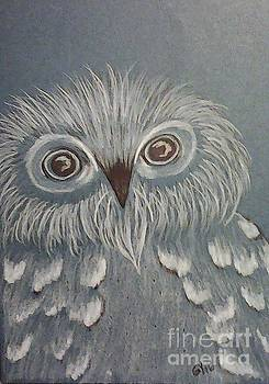 Owl In The Blue by Ginny Youngblood